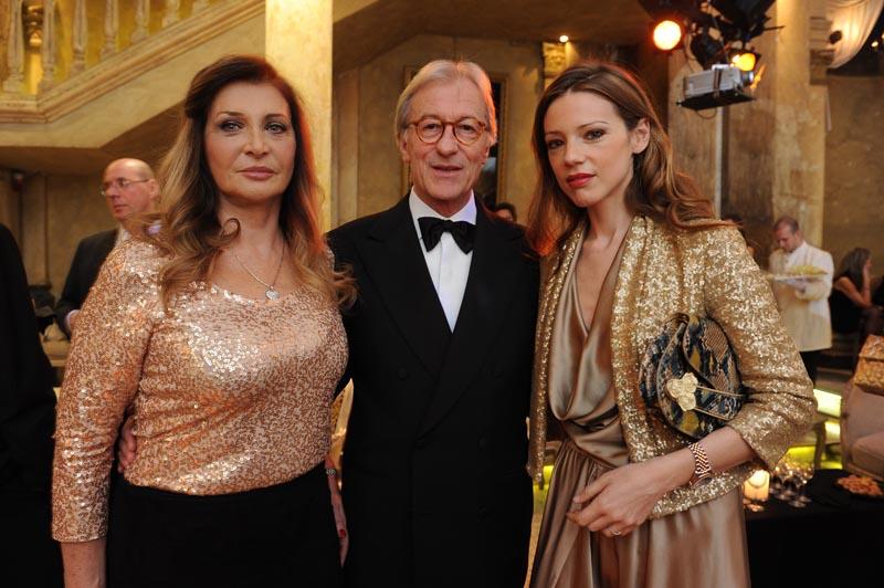 Maria Luisa Trussardi;Vittorio Feltri;Gaia Trussardi