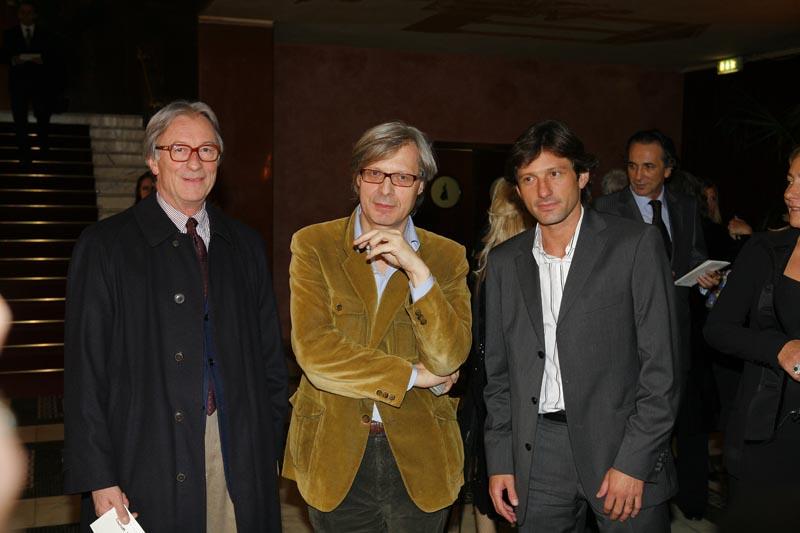Vittorio Feltri + Vittorio Sgarbi + Leonardo
