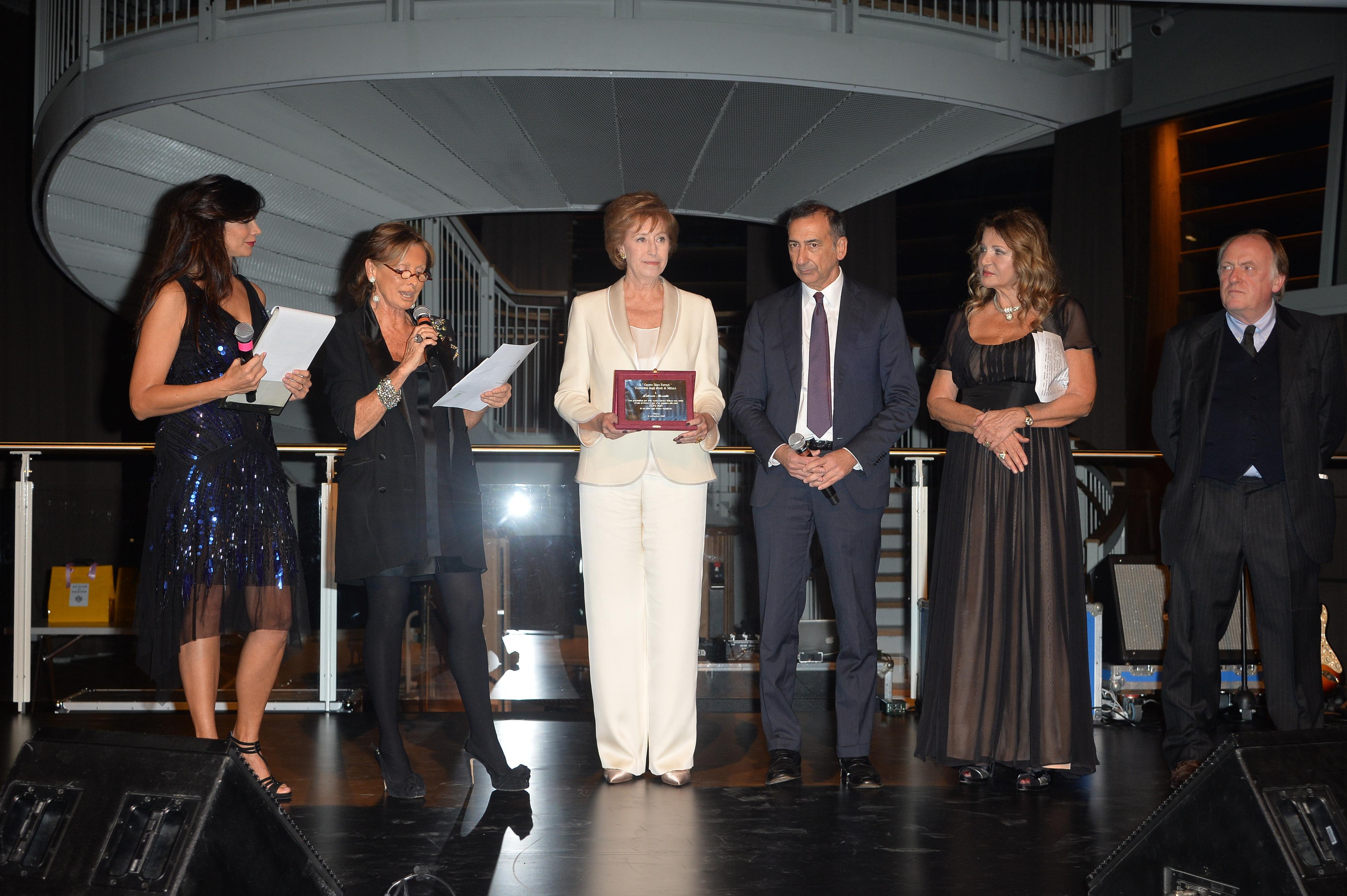 Luisa Corna;Manuela Consensi;Letizia Moratti;Giuseppe Sala;Maria Luisa Trussardi;Nereo Bresolin